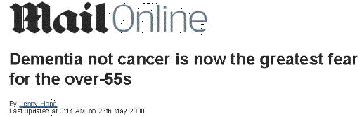 Shocking headline UK, 2008
